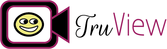 TruView black Logo
